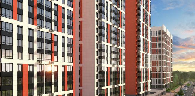 Привлекательная архитектура фасадов