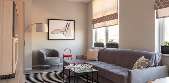 Дизайнерская отделка квартир